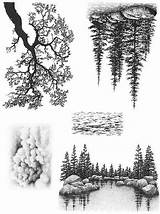 Lakeside Cove Stamps Nature Landscape Stampscapes Cling Scrapbookingfairies Sheet Coloring sketch template