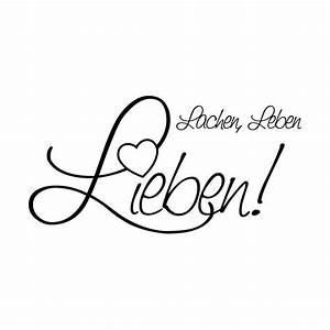 Lieben Leben Lachen : holzstempel mit dem spruch lachen leben lieben f r viele gelegenheiten ~ Orissabook.com Haus und Dekorationen