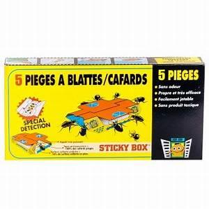Produit Pour Cafard : pi ge blatte cafard produit cafard sticky box eradicateur ~ Melissatoandfro.com Idées de Décoration