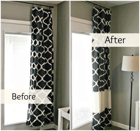 best 25 curtain length ideas on window