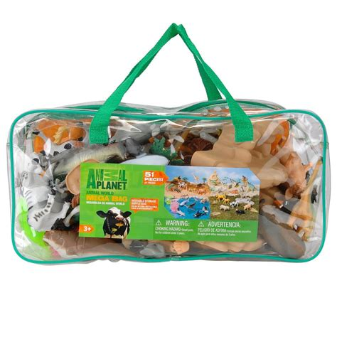 animal planet animal world mega bag playset toys