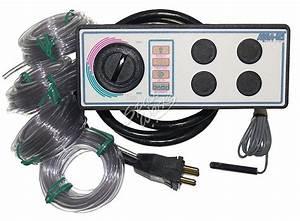 4 Button 240 Volt 10 Foot Cord Aquaset Spa Side Control