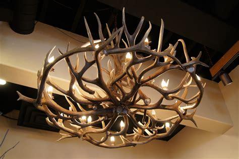 custom antler chandeliers by the peak antler company