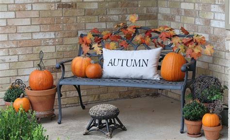 Decorating Ideas For Fall Outside by Home Decorating The Ground Level