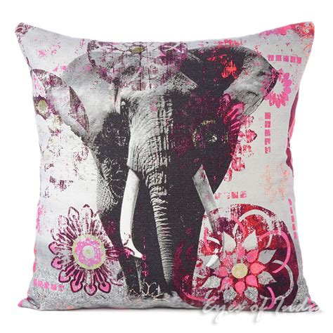 Colorful Sofa Pillows by Purple Elephant Colorful Decorative Bohemian Sofa Throw