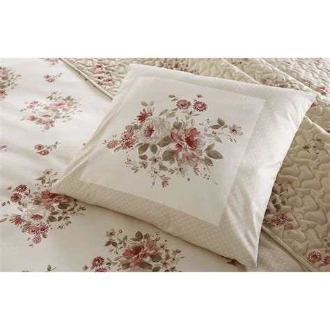 floral shabby chic bedding shabby cottage floral chic bedding beige cream rose red for girls ebay