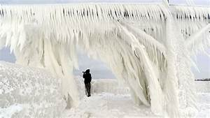 Lake Michigan Ice Coverage Growing  But So Is The Danger
