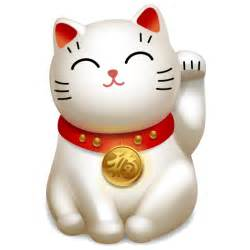 cat 5 icon maneki neko iconset icojoy