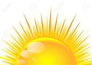 Half Sun Cartoon