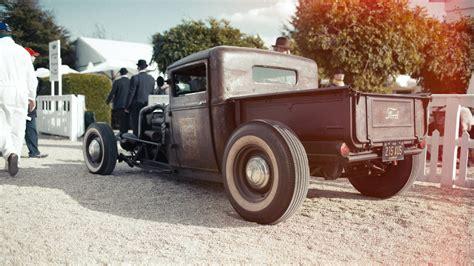Classic Ford Hot Rod Wallpaper