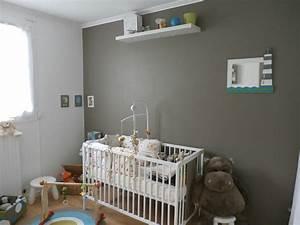 Chambre bebe couleur taupe meilleures images d for Chambre a coucher adulte avec matelas bébé 60x120 bio