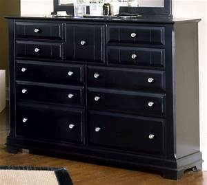Black bedroom dressers marceladickcom for Black bedroom dressers