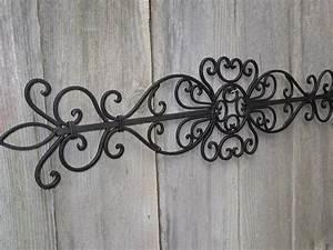 Wall art designs wrought iron