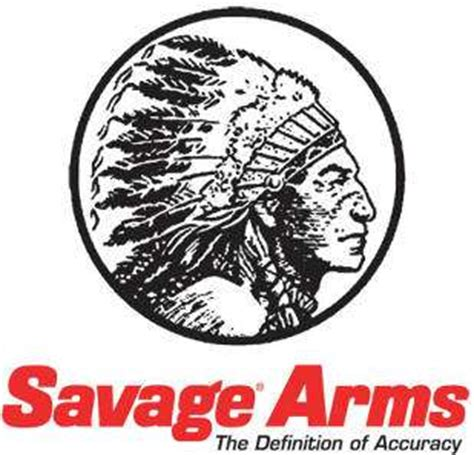 savage arms logo signtorch turning images  vector