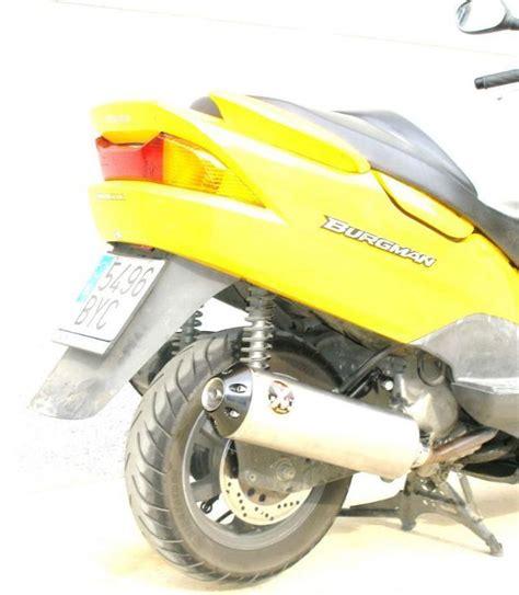 ixil pot d 233 chappement ovale evolution pour burgman 125 de 2007 224 2010 motokristen