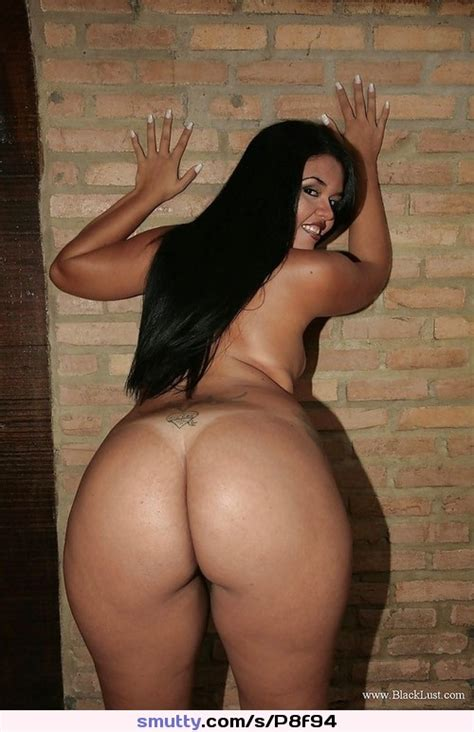 Bbw Chubby Ass Butt Bum Bigass Blackhair Smiling
