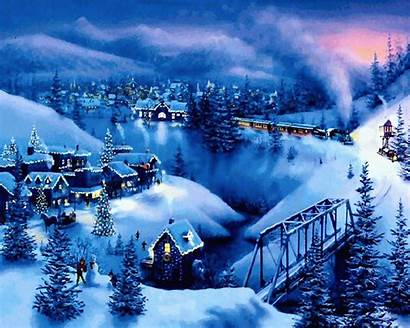 Wallpapers Christmas Animated Merry Awesome Amazing Xmas