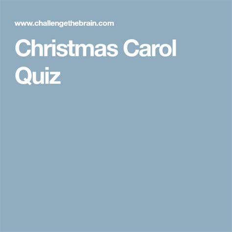 christmas carol quiz  images christmas carol quiz