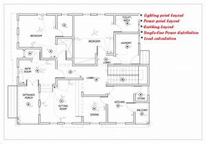 Do Electrical Drawings For House Wiring Etc With Autocad