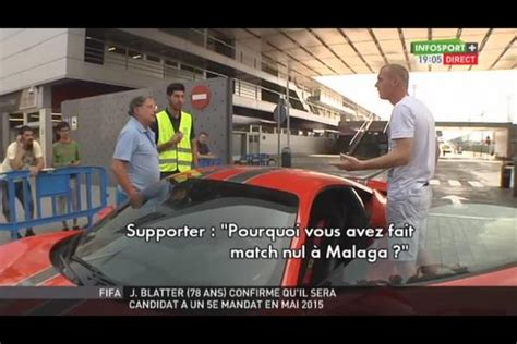 video altercation jeremy mathieu   supporter du barca