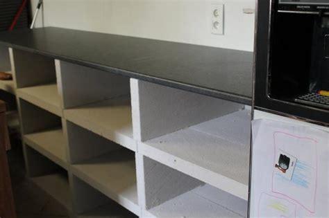 cuisine en dur meuble de cuisine en beton cellulaire de creationsph