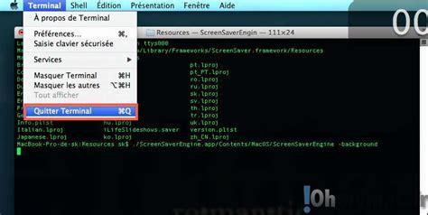 bureau fond d 馗ran utiliser un écran de veille comme fonds d 39 écran sur mac ohmymac