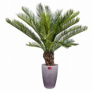 Plante D Intérieur Pas Cher : palmier artificiel cycas 90cm plante tropicale achat ~ Dailycaller-alerts.com Idées de Décoration