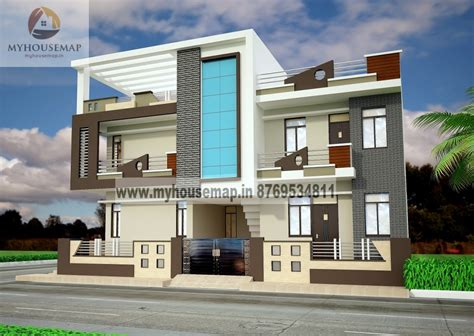 Home Design Ideas Elevation by Front Elevation Design Modern Duplex Front Elevation
