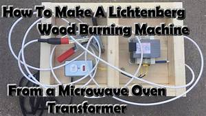 I Made A Lichtenberg Wood Burning Machine From A Microwave