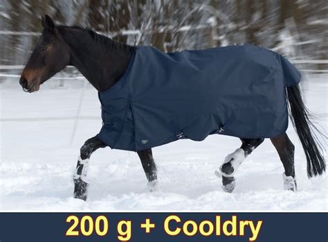 pferdedecke winter rainmax   cooldry regendecke