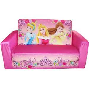 fun furniture flip open sofa disney princess pink