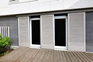 fabricant francais de fermetures bois sur mesure volets With porte de garage coulissante jumelé avec bloc porte métallique