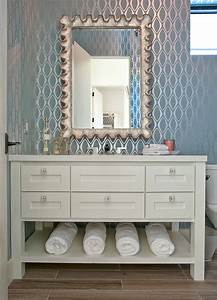 bathroom wallcovering modern blue bathroom wallpaper With wallpaper patterns for bathroom