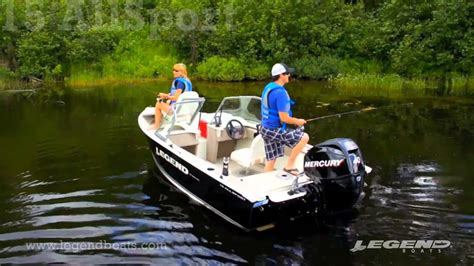 Legend Boats Youtube by Top Fishing Boats By Legend Boats 15 Allsport Youtube
