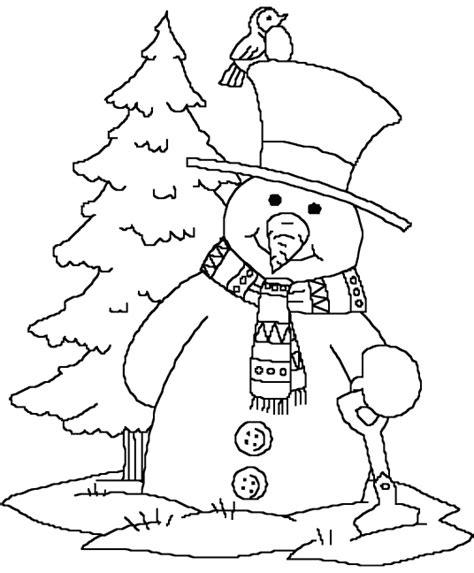snowman coloring page snowman coloring pages printable 畫