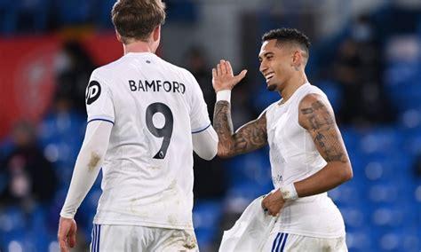 Ben Parker applauds Leeds striker Patrick Bamford after ...