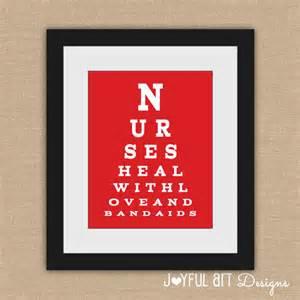 nurse eye chart printable nurses heal with by