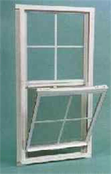 thermal break single hung tilt sash aluminum window