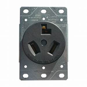 Enerlites 30a Dryer Plug Receptacle 3 Wire Power Outlet