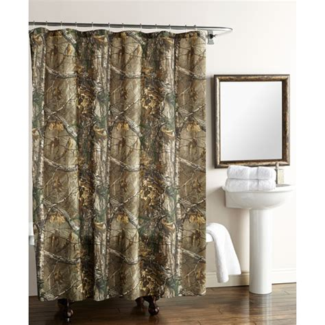 realtree camo curtains walmart real tree xtra shower curtain walmart