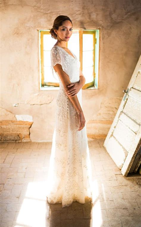 casual wedding dress simple wedding dress backyard wedding
