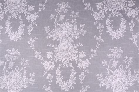 Toile Drapery Fabric - waverly country house toile printed cotton drapery fabric