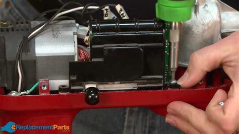 replace  speed sensor  control board