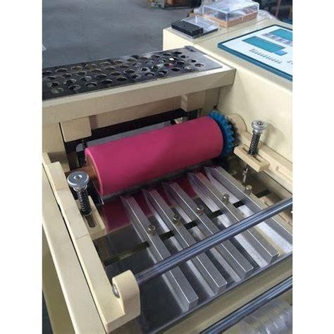 semi automatic rubber band cutting machine hair rubber band making machine rubber band making