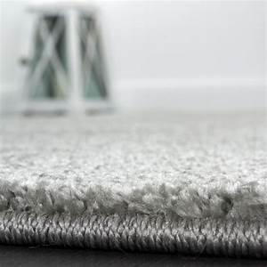 Teppich Einfarbig Günstig : teppich einfarbig designerteppich mit handgearbeitetem konturenschnitt uni grau teppiche ~ Indierocktalk.com Haus und Dekorationen