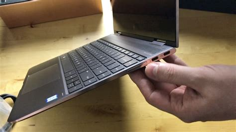 HP Spectre x360 with pen and 4K display unboxing and first
