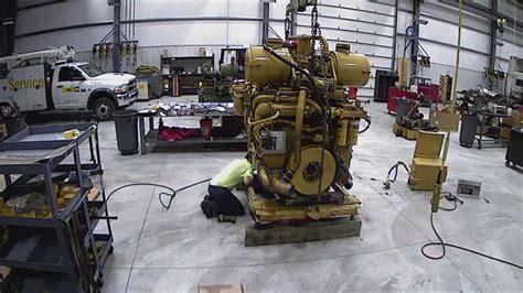 caterpillar dr certified power train engine rebuild time