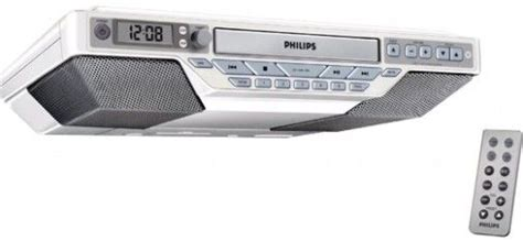 kitchen clock radio cabinet philips aj6111 37 kitchen clock radio plays cd cd r and 8211