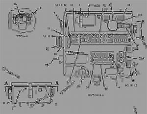 1287966 Wiring Group -starter Motor - Engine
