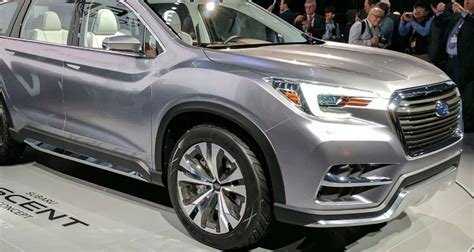 subaru ascent price release date specs interior